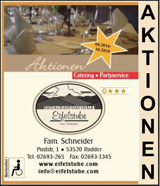Restaurant Aktion Catering 53520 Adenau Nürburgring Region Eifel Partyservice Hochzeit Polterabend, Geburtstag,Taufe, Kommunion, Konformation,Feste, Eventservice