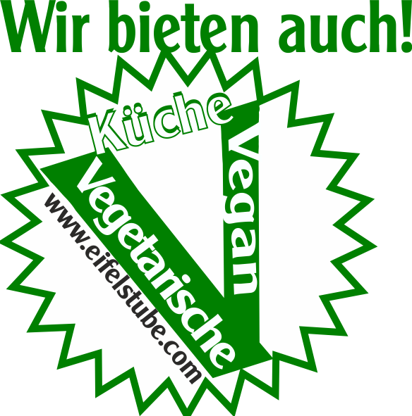 Eifelstube Logo Vegan Vegetarier