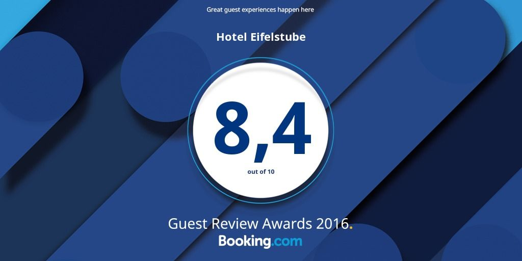 Eifelstube Rodder Bewertungen Reviews Booking.com  Auszeichnungen Awards Hotel Restaurant