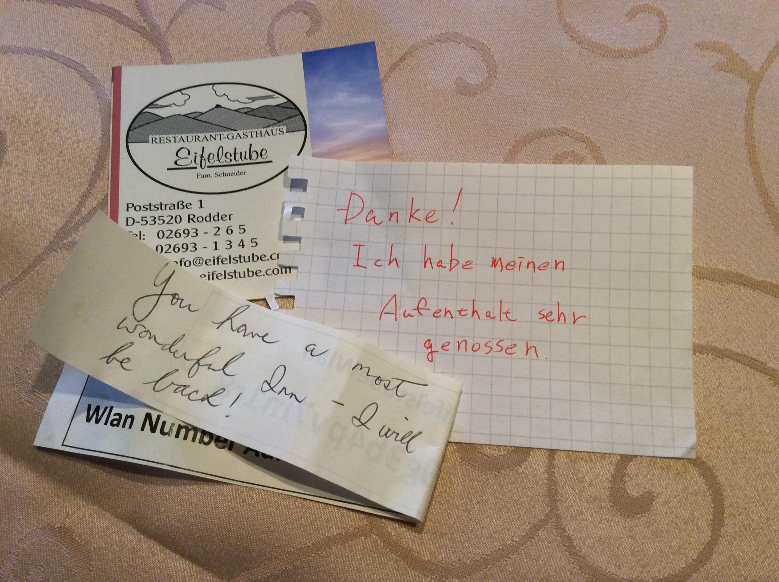 Bewertungs Foto Eifelstube Rodder