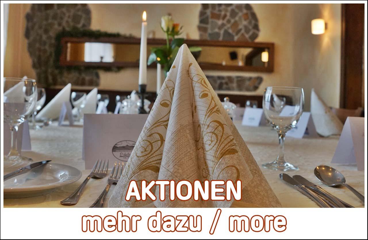 Lassen Sie sich Überraschen mit  guten Speisen und Aktionen in der Eifel bei Adenau  Restaurant Eifelstube mit Wild, Fisch und Vegetarische Speisen Vegan