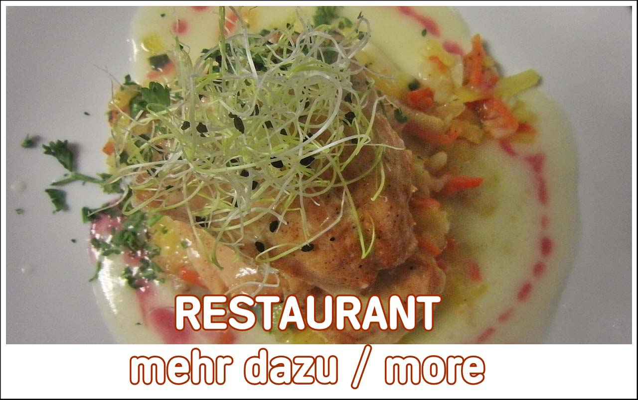 Am mittag und Abend frische Küche geöffnet auch an Feiertagen. Restaurant nähe Adenau Nuerburgring.
