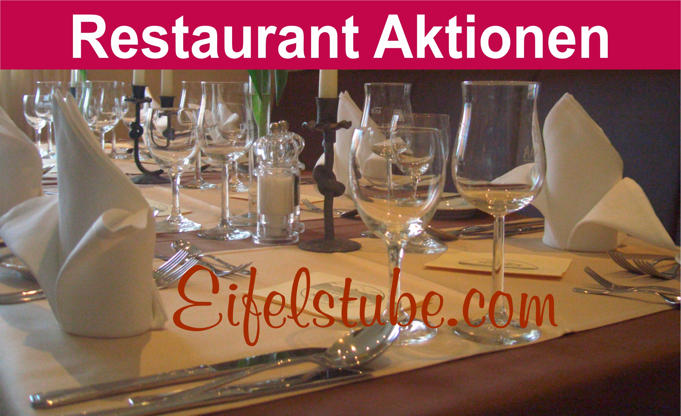 Restaurant Aktionen in der Eifel in Rodder bei Adenau hier Aktionswochen Fischessen Freundschaftsabend Vegetarische Speisen Vegan